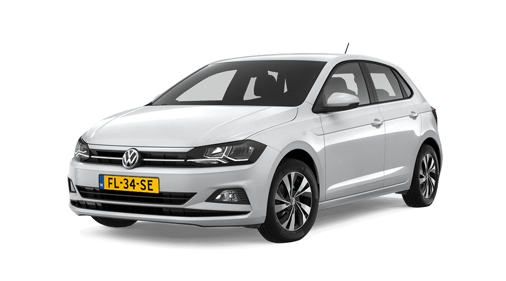 Populaire financial leaseauto volkswagen polo