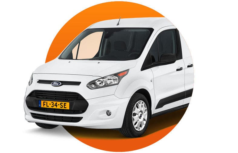 Ford Transit Connect scherpe lease deal