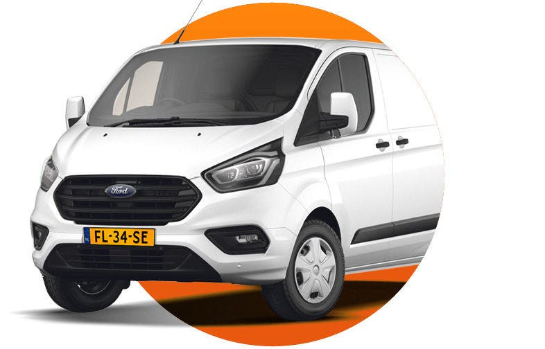 Ford Transit Custom scherpe lease deal