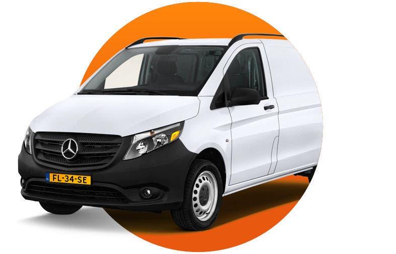 Mercedes-Benz Vito scherpe lease deal