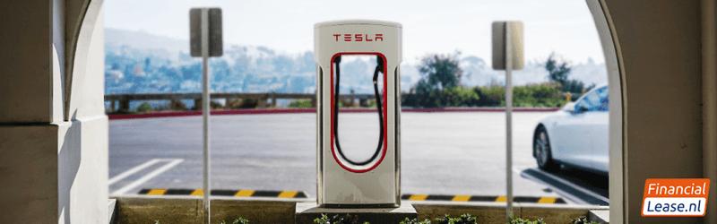 Tesla laden en laadpalen