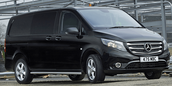 Mercedes Vito - top 5 bedrijfsauto's van de maand februari