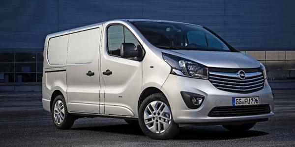 Opel Vivaro - de top 5 bedrijfsauto's van de maand februari
