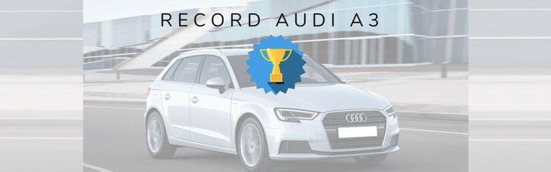 Audi a3 Sportback g-tron pakt duurtest record