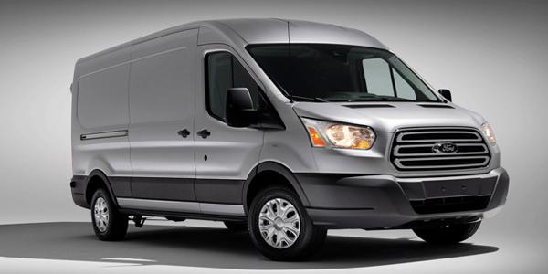 Ford Transit - de top 5 bedrijfsauto's van de maand februari