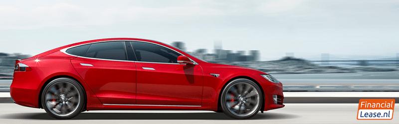 Het vermogen van een elektrische auto (Tesla)