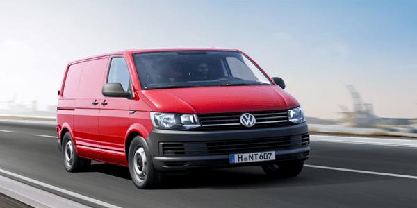 Volkswagen Transporter - top 5 bedrijfsauto's van de maand februari